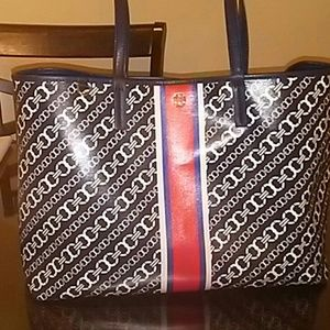 Tory Burch Link Tote Authentic